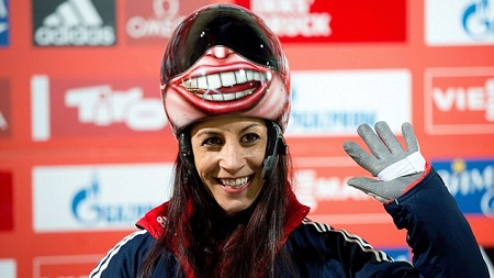 British Skeleton Sochi Smile