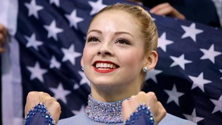 US Figure Skating Team Smile Gracie Gold