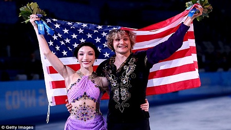 Ice Dancing Gold Sochi Smile