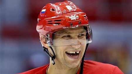 SOCHI OLYMPICS Ovechkin Do You Have A Favorite Sochi Olympics Smile?