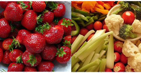 Eat Fruits and Vegetables for Healthy Teeth